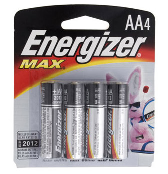 Energizer Max - AA - 4 Pack